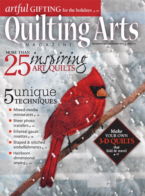 Cover Quilting Arts